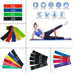 Resistance Bands Loop Exercise Sports Fitness Home Gym Yoga