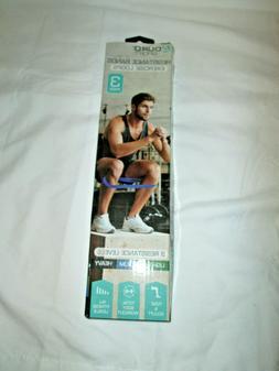 Aduro Resistance Bands Loop Set 3 CrossFit Fitness Yoga Boot