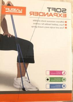Liveup SPORTS Resistance Bands MEDIUM RESISTANCE Tubes with