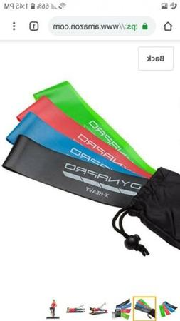DYNAPRO Resistance Bands- Mini Precision Loop Exercise Bands