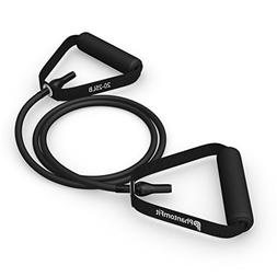 Phantom Fit Resistance Bands With Handles - Black 20-25 Lb.