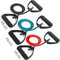 Resistance Bands Resistance Tubes Foam Handles Exercise Cord