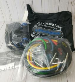 Resistance Bands Set BODYLASTICS 12 piece set