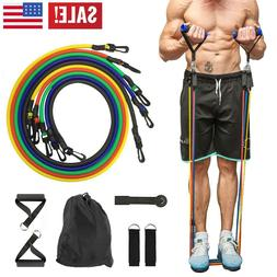 resistance bands set door anchor ankle straps
