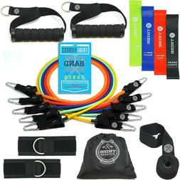 Tribe Resistance Bands Set, Exercise Bands for Working Out