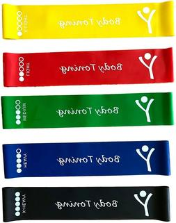 Resistance Bands Set Exercise Elastic Loop Band for Yoga Arm