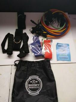 Tribe Resistance Bands Set Exercise For Working Out Includes