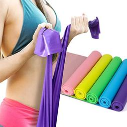 BST POWER 5 FT Resistance Bands Set,Professional Latex Elast