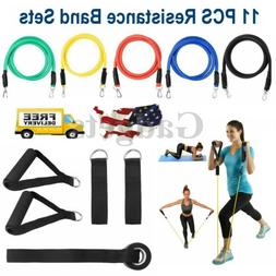 Resistance Bands Set Pull Rope Gym Home Exercise Fitness Wor