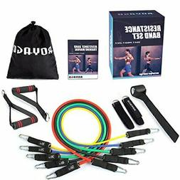 Royago Resistance Bands Set Workout Bands 150LBS 11 PCS with