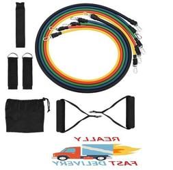 Resistance Bands Set With Handles, Door Anchor, Ankle Straps