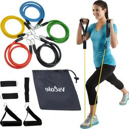 11 PCS Resistance Bands Set for Fitness Exercise Yoga Pilate