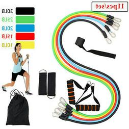 Resistance Bands Set, Workout Exercise Tube For Indoor and O