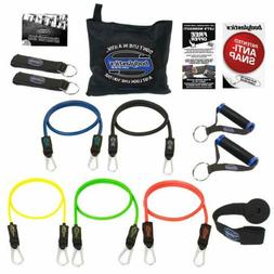 BODYLASTICS Anti-Snap Resistance Bands - 12 PCS Patented Set