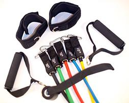 Resistance Bands Sets with Door Anchor Attachment Workout Gy
