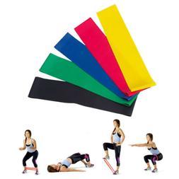 Resistance Bands Sport Loop Exercise Yoga Elastic Workout Ba