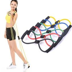 Resistance Bands Stretch Rope - 1pcs 8 Shaped Elastic Tensio