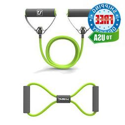 Liveup SPORTS Resistance Bands Tubes with Foam Handles, Exer
