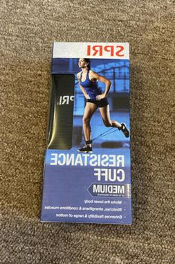 SPRI Resistance Cuff Leg/Ankle Band Heavy With Exercise Guid