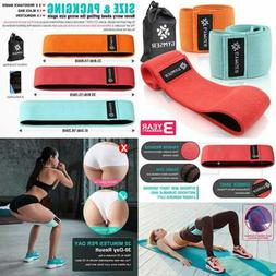 Resistance Fabric Bands Exercise Band For Legs & Butt Yoga F