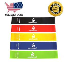 Resistance Loop Band Set Pull Up Strength Fitness for Legs H