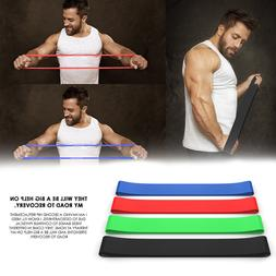 Resistance Loop Bands BEST Set of 4pcs Home Fitness Exercise