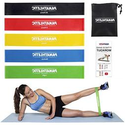 Resistance Loop Bands/Exercise Bands/Fitness Bands, Set of 5