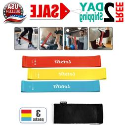 resistance loop bands exercise workout bands pilates