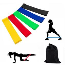 Resistance Loop Bands Mini Band Exercise Crossfit Strength F