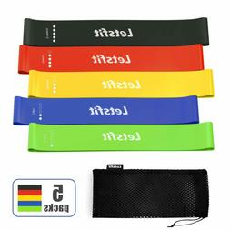 Letsfit Resistance Loop Bands Resistance Exercise Band Fitne