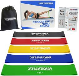 Resistance Loop Bands Set Exercise Fitness Workout Home Gym
