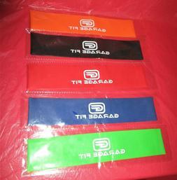 Garage Fit Resistance Loop Bands:Set of 5 Multicolor Bands N