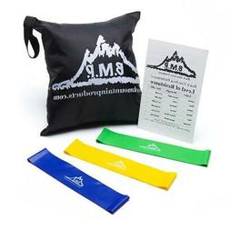 Black Mountain Products Resistance Loop Bands Set of Three w
