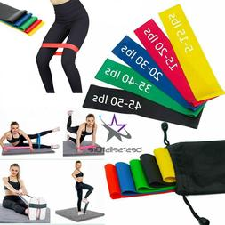 Resistance Loop Bands Set Strength fitness Gym exercise Yoga