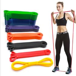 Resistance Loop Bands Strength Fitness Gym Exercise Yoga Wor