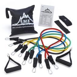5PCs Resistance Loop Bands Yoga Workout Exercise Stretch The