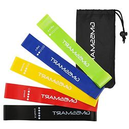 GM5SMART Resistance Bands, Exercise Bands,Exercise Loops Fit