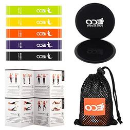 Resistance Loop Exercise Bands , Dual Sided Exercise Core Sl
