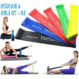resistance loop exercise bands for legs pilates