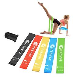 Colerare Resistance Loop Exercise Bands for Home Fitness, St