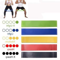 Resistance Rubber Bands Elastic Indoor Outdoor Fitness Sport
