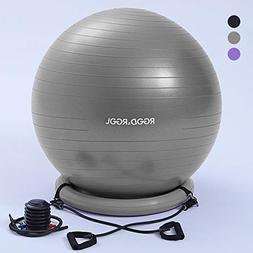 RGGD&RGGL Yoga Ball Chair, Exercise Balance Ball Chair 65cm