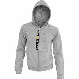 EliteFTS Men's Rocky Gold Zip Hood XL Gray