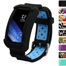 Wonlex Samsung Gear Fit2 Band, Silicone Replacement Watch Ba