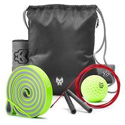 Best Set for Optimal Training - Includes Drawstring Backpack