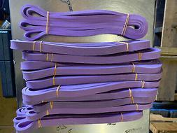 set of 10 -1/2 inch RESISTANCE BANDS JUMP SPRINT FLEX STRETC