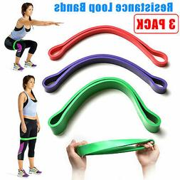 set of 3 heavy duty resistance band