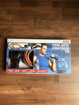 SHIPS TODAY SPRI Exercise Total Body Resistance Band Kit Fit