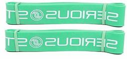 Serious Steel Fitness Short #4 Green Mini Resistance Band Fi