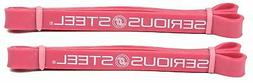 Serious Steel Fitness #2 Red Mini Resistance Band Fitness Lo